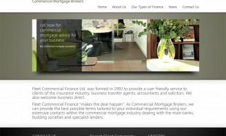 Fleet Finance new website